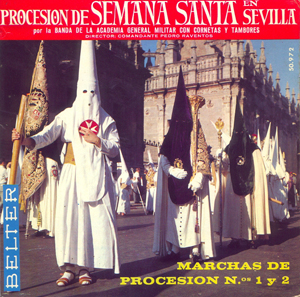 bm academia general militar procesion de semana santa en sevilla