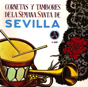 cctt policia armada de sevilla cornetas y tambores semana santa de sevilla 1967