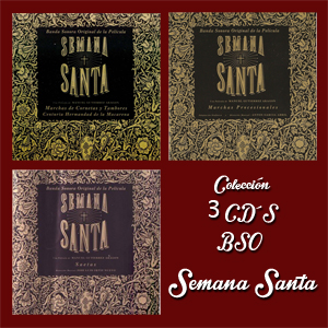 coleccion 3 cds bso pelicula semana santa 1992
